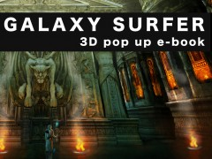 HÍREK - GALAXY SURFER 3D pop up e-book